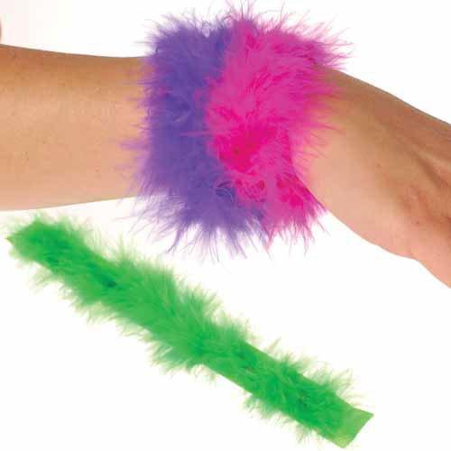 Furry Slap Bracelets