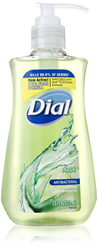 Dial  Liquid Hand Soap With Moisturizer, Aloe, 7.5 Ounce