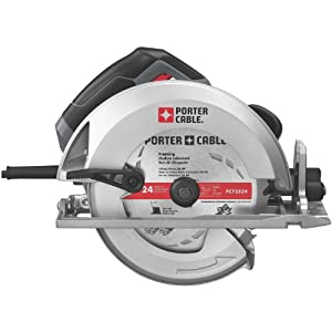 PORTER-CABLE PC15TCSMK 7-1/4-Inch 15 Amp Heavy-Duty Circular Saw