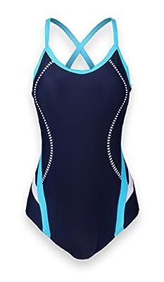 ReliBeauty Women's Adjustable Strap Cross Back One Piece Swimsuits