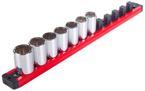 Torin LAS50PMT Magnetic Locking Socket Rack - 1/2 in.