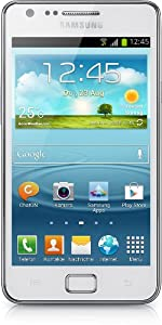 Samsung I9105P Galaxy S II Plus DualCore Smartphone (10,9 cm (4,3 Zoll) Super AMOLED-Display, 8 Megapixel Kamera, Full-HD, WiFi, NFC, Android 4.1) chic weiß