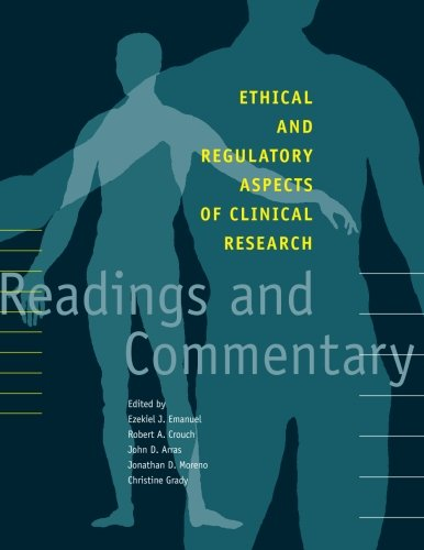 Ethical and Regulatory Aspects of Clinical Research:...