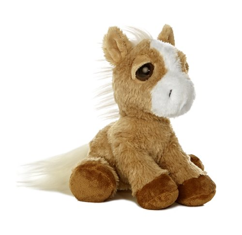 "Aurora World World Dreamy Eyes 10"" Plush, Breeze Palomino Horse"