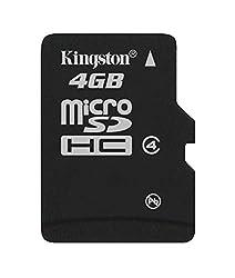 Kingston 4GB Micro SDHC class 4 memory card