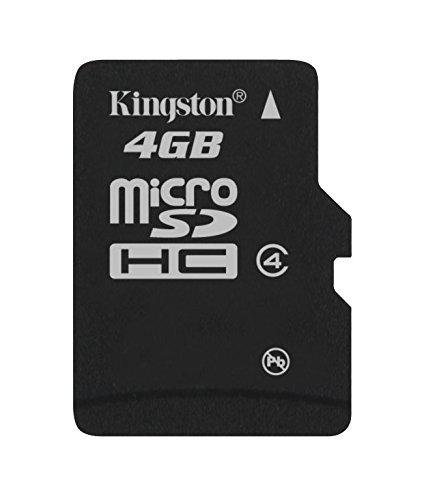 Kingston SDC4/4GBSP - Tarjeta microSD de 4 GB
