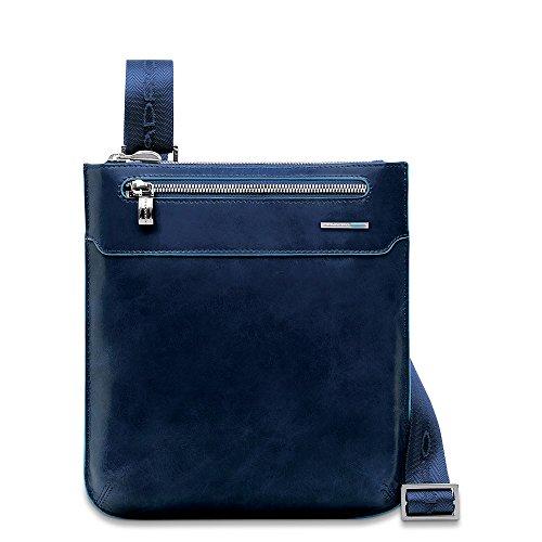 Piquadro Blue Square Borsa messenger, 22x25x2 cm, Blu (Blu)