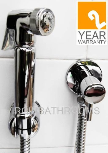 Brass Douche Bidet Spray + Isolating Valve + holder