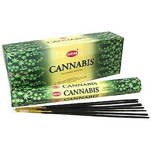 [HEMのアロマ・インセンスお香でリラックス!! カナビス香・爽やかな大麻草の香り]HEM CANNABIS 1BOX(1箱約20本入り×6箱)