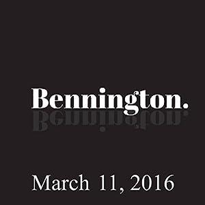 Bennington, Eddie Pepitone and Louie Anderson, March 11, 2016 Radio/TV Program
