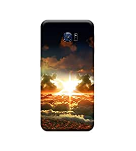 Kratos Matte Finishing Back Cover For Samsung Galaxy S6 edge (Elite)