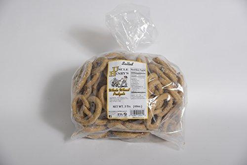 Uncle Henry'S 2X3 Lb. Bags Whole Wheat Salt Pretzels front-118799