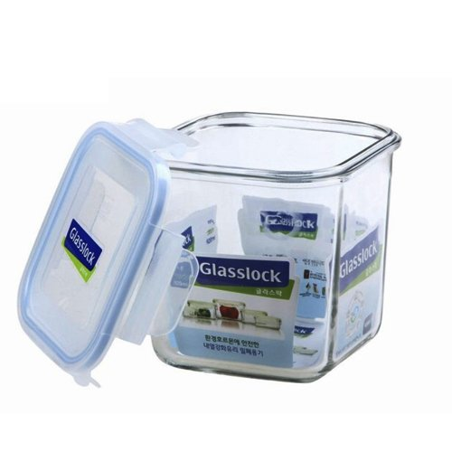 Glass Lock Square Storage Container 920ml  sc 1 st  Gludo & Glass Lock Square Storage Container 920ml Price in India | Buy ...