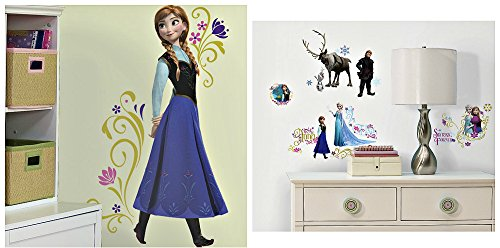 Roommates Frozen Peel And Stick Wall Decal Mega Pack, 54 Pieces front-1073867