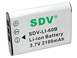 Replacement Battery Olympus LI- 60/B for Olympus FE-370,