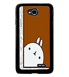 PrintDhaba Cartoon D-2640 Back Case Cover for LG L90 (Multi-Coloured)