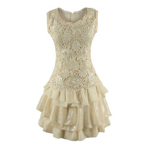 Miusol teenagers Chiffon Sleeveless Dresses