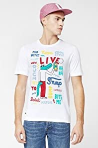 L!VE Short Sleeve Styling Croc Graphic T-Shirt