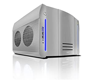 NZXT ROGUE Crafted Series SILVER ROGUE w. BLUE LED Black Aluminum MicroATX Mid Tower Computer Case - Retail