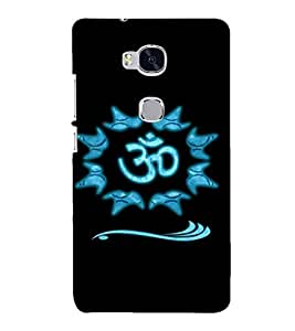 PRINTSHOPPII OM LORD SHIVA Back Case Cover for Huawei Honor 5X