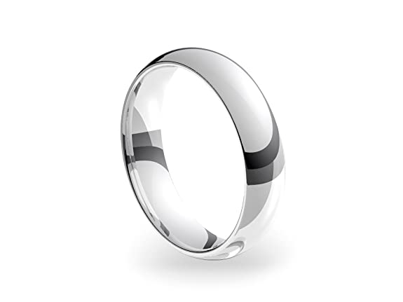 Platinum Standard Court 5mm Wedding Ring