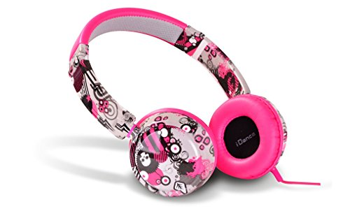Idance Track 40 Series Street Design On Ear Headphone - Multicolour