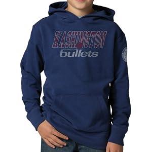 NBA Washington Wizards Playball Hoodie Jacket, Bleacher Blue by