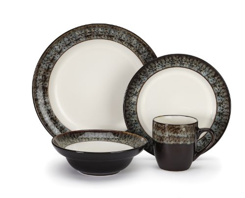 Cuisinart Stoneware Colette Collection 16-Piece Dinnerware Sets