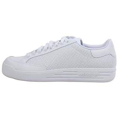 Adidas 'Rod Laver Lo' Leather Tennis Shoe, White 10.5