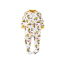Carters Fleece Baby Pajamas - 1 Piece (24 Month, Construction)