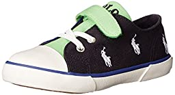 Polo Ralph Lauren Kids Kody Fashion Sneaker (Toddler), Navy/Royal/Green/White, 7 M US Toddler