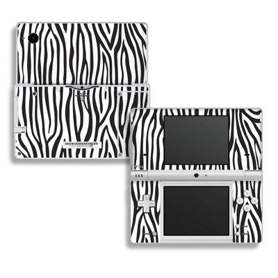 Zebra Stripes Design Decorative Protector Skin Decal Sticker for Nintendo Dsi