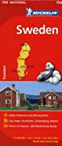 Michelin Sweden Map 753 (Maps/Country (Michelin))