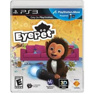 NEW EyePet Move PS3 (Videogame Software)