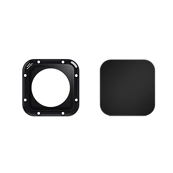 ParaPace Protective Camera Lens Glass Cover Replacement Kit Set for GoPro Hero 5 Session & 4 Session with Camera Lens Cap (Color: Protective Lens&Cap)