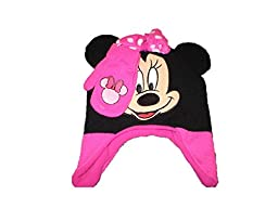 Minnie Mouse Toddler Girls Hat and Mitten Set