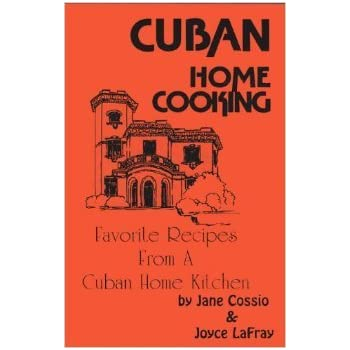 Cuban home cooking book