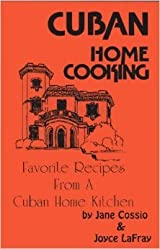 Cuban home cooking book