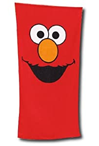 Sesame Street Elmo Beach Towel
