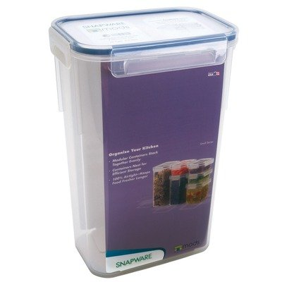 Snapware Airtight Small Rectangle Storage Container, 10-Cup front-167680