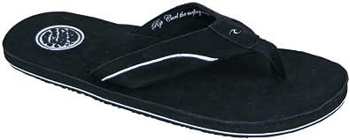 Rip Curl Detonator Sandal - Black / White - 8