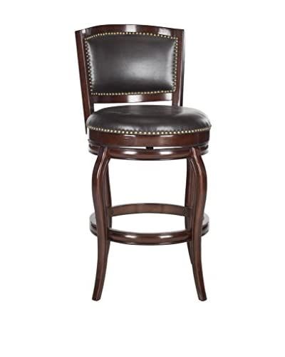 Safavieh Pasquale Bar Stool, Sierra Brown/Brown