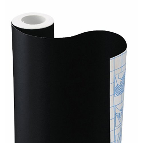 Commercial Chalkboard Contact Paper, Black, 18