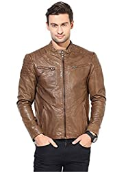 Hidewear mens 100% genuine leather jacket