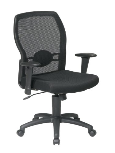 Office Star 599302-3 Woven Mesh Back Office Chair