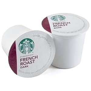Starbucks French Roast Dark Roast Coffee Keurig K-Cups, 48 Count
