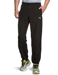 Puma Men's Jogging Bottoms Woven Closed black Size:S