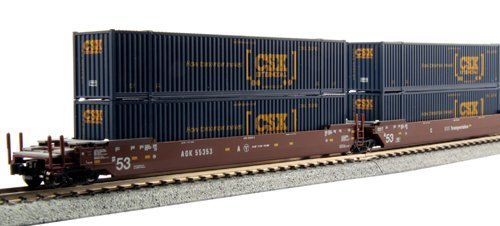 kato-usa-model-train-products-gunderson-maxi-i-aok-58153-double-stack-car-set-with-hanjin-40-contain