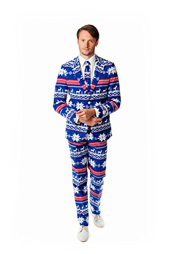 OppoSuits Men's The Rudolpoh Party Costume Suit