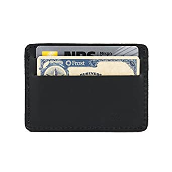 Saddleback Leather Front Pocket ID Wallet in Black